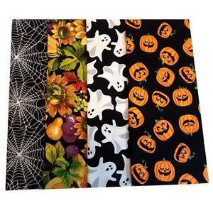 4ct Fat Quarter Quilt Fabric Halloween 1